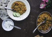Restaurant Style Spicy Vegetable Bhaath
