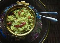 Raw Mango Rice (Mavinkai Chitranna)