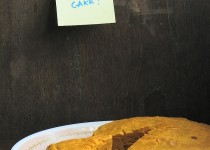Eggless Whole Wheat, Mango and Cardamom Cake