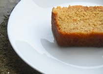 Wheat and Semolina Cake (Soaked in Honey and Lime Syrup)
