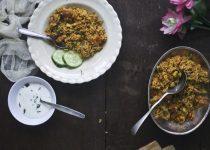 Restaurant Style Spicy Vegetable Bhaath