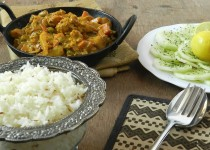 Kadai Vegetable with Jeera Rice