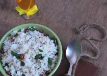 Heralekai Chitranna (Citron Lime Rice)