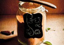 Chutney Pudi (Chutney Powder for Dosas and Idlis)