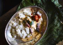 Kotte Thambuli (Halasina Beejada Thambuli) / Jackfruit seeds Thambuli